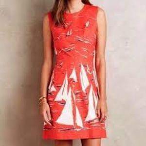 Maeve (Anthropologie) Sailboat Dress